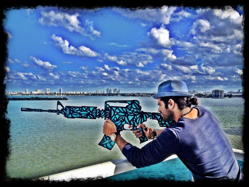 alexander mijares art gun