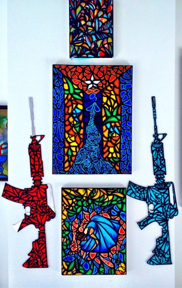 mijares artist guns