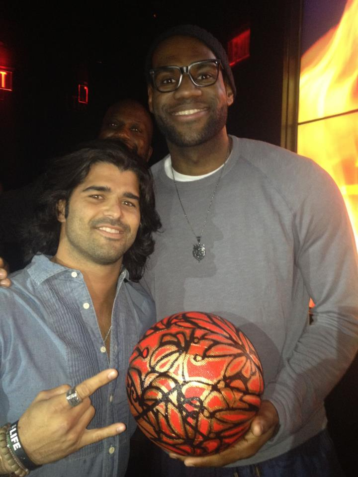 lebron james and Alexander Mijares