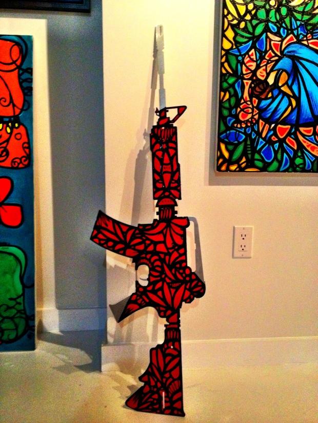 make art not war mijares