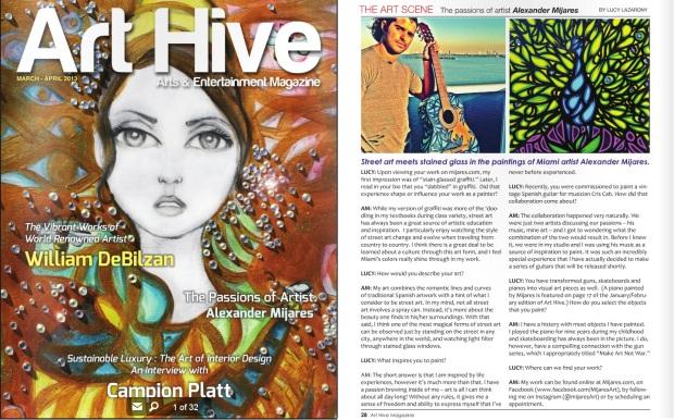 alexander mijares Art Hive Magazine
